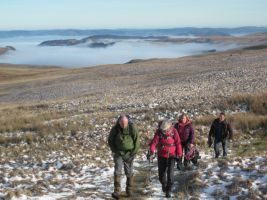 New Year walks at Elan Valley