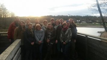 The group who attended the Sweden excursion